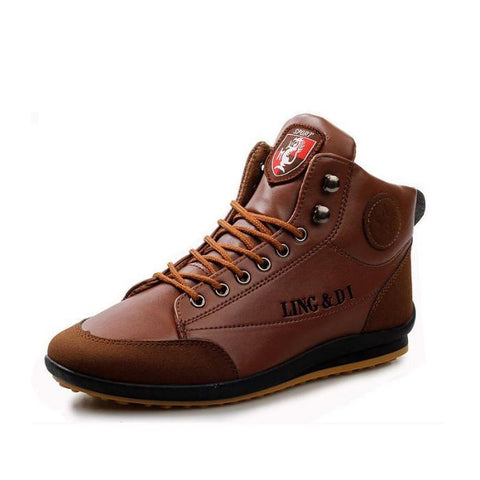 Men's Warm Leather Ankle Boots for Spring | Autumn | Winter | RnD International