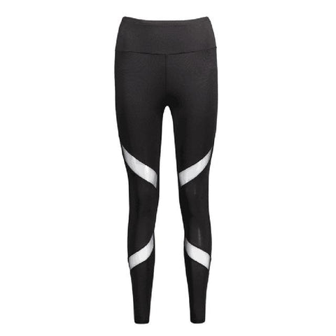 Women's Sexy Mesh Patchwork Gym Tight Leggings | RnD International