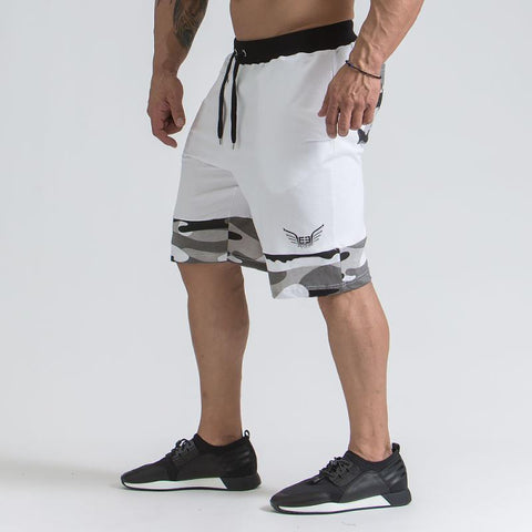Men's Knee Length Embroided Short | RnD International