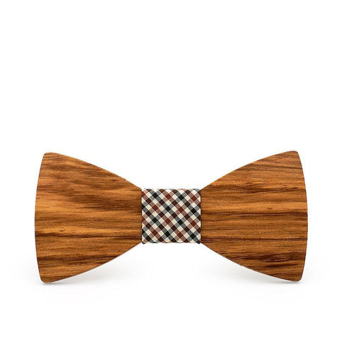 Men's Wood Bow Tie Knot | RnD International