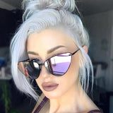 Women's Metal Frame Cat Eye Sunglasses | RnD International