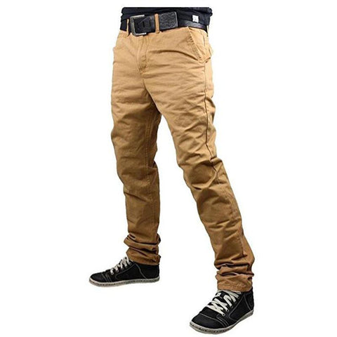 Men's Solid Color Casual Trousers | RnD International