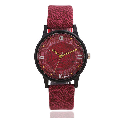 Women's Wooden type Quartz Watch | RnD International