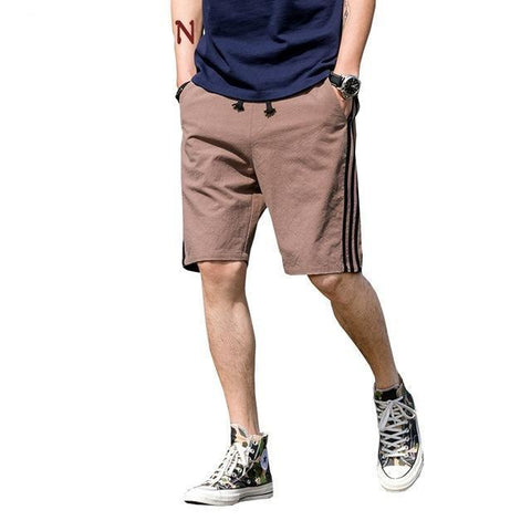 Men's Cotton Shorts with Side Stripes | RnD International