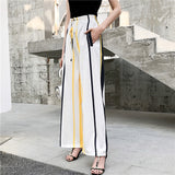 Women's Striped Chiffon Pants | RnD International