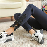 Women's Lace Crochet Skinny Jeggings | RnD International