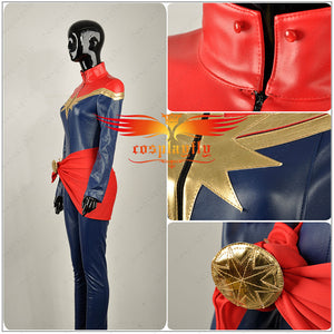 Avengers Captain Marvel Ms. Marvel Carol Danvers Cosplay Costumes