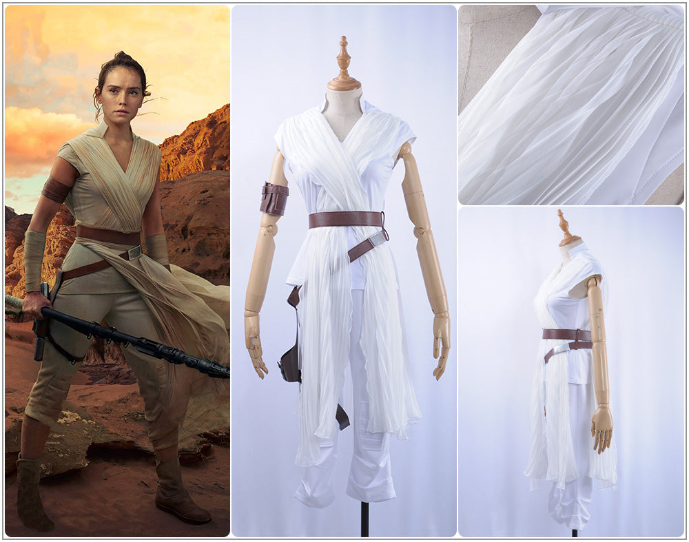 Cosplayflying Buy 2019 Film Star Wars The Rise Of Skywalker Rey Battleframe Cosplay Costume Adult Women For Halloween Party