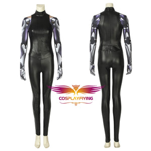 2019 Movie Alita: Battle Angel Alita Battle Jumpsuit with Metal Arm Cosplay Costume Version B
