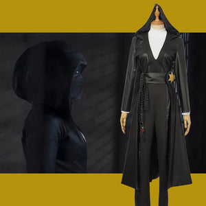 2019 TV Series Season 1 Watchmen Angela Abar Cosplay Costume Custom Made for Adult Women Carnival Halloween