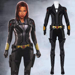 2020 Marvel Movie Black Widow Natasha Romanoff Cosplay Costume for Halloween Carnival Version A