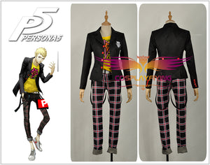 Persona 5 Cosplay Ryuji Sakamoto Male Outfit Uniform Cosplay Costume Full Set