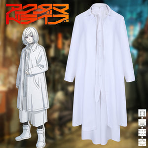 Akudama Drive Cutthroat Satsujinki Cosplay Costume White Uniform Halloween Carnival Adult Outfit