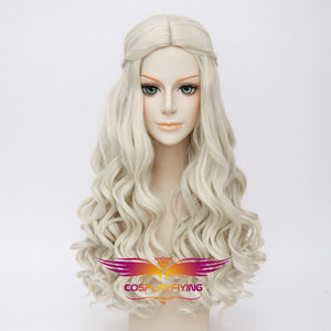 Disney Movie Alice in Wonderland The White Queen Cosplay Wig Cosplay for Adult Women Halloween Carnival
