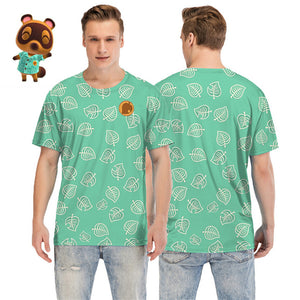 Animal Crossing: New Horizons Timmy/Tommy Tom Nook 3D Printed T-Shirt Cosplay Costume