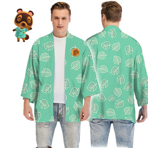 Animal Crossing: New Horizons Timmy/Tommy Tom Nook Cloak Kimono Cosplay Costume