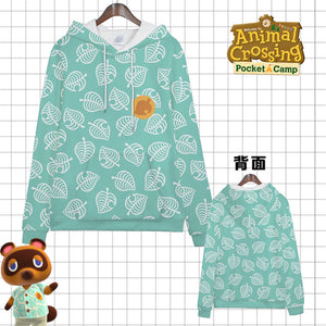 Animal Crossing: New Horizons Timmy/Tommy Tom Nook Kids/Adult Hoodie Cosplay Costume