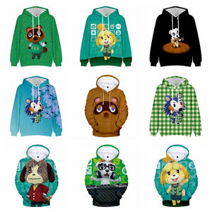 Animal Crossing: New Horizons Tom Nook Timmy/Tommy 3D Printed Hoodie Cosplay Costume