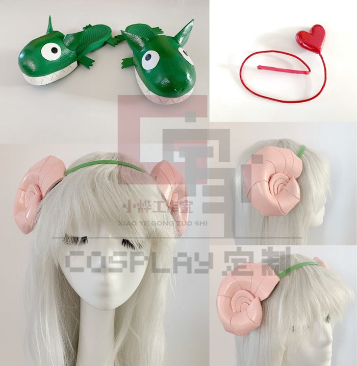 Anime Welcome to Demon School Iruma-kun ? Valac Clara Horn Only Cosplay Props Accessories