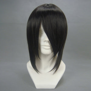 Anime Black Butler Sebastian Michaelis Black Short Cosplay Wig Cosplay for Boys Adult Men Halloween Carnival Party