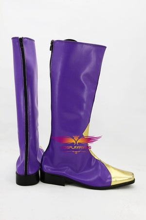 Anime Code Geass Zero Lelouch Cosplay Shoes Boots Custom Made for Adult Men and Women Halloween Carnival