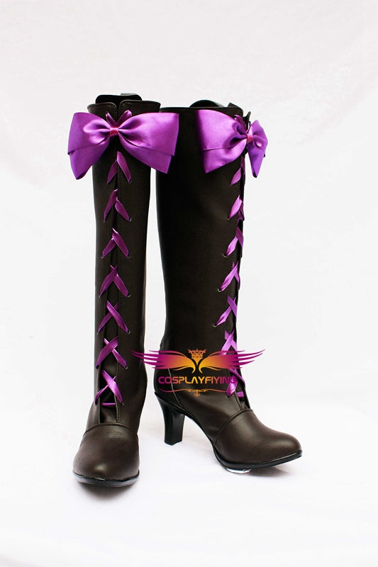 Anime Comics Black Butler Alois Trancy Cosplay Shoes Boots Custom Made for Adult Men and Women Halloween Carnival