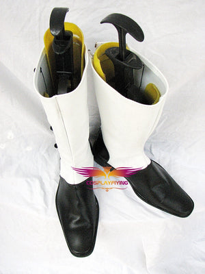 Anime Comics Black Butler Joker Cosplay Shoes Boots Custom Made for Adult Men and Women Halloween Carnival