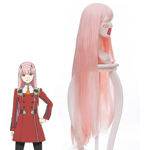 Anime Comics DARLING in the FRANXX Zero Two CODE:002 Cosplay Wig Cosplay for Adult Women Halloween Carnival