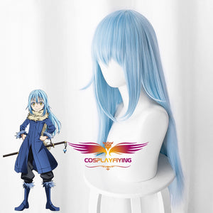 Anime Comics That Time I Got Reincarnated As A Slime Rimuru Tempest Blue Cosplay Wig Cosplay for Adult Women Halloween Carnival