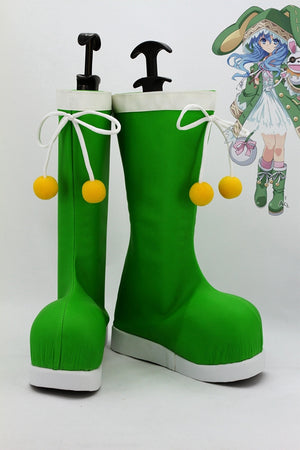 Anime Date A Live Hermit Yoshino Cosplay Shoes Boots Custom Made for Adult Men and Women Halloween Carnival