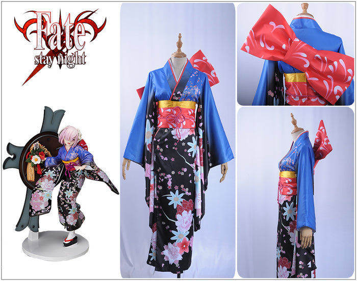 Anime Fate Grand Order Kimono Kyrielight Matthew Cosplay Costumes