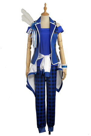Anime Game Virtual Idol Group B-project MOONS Wasari Hiraku Stage Uniform Male Cosplay Costume for Carnival Halloween