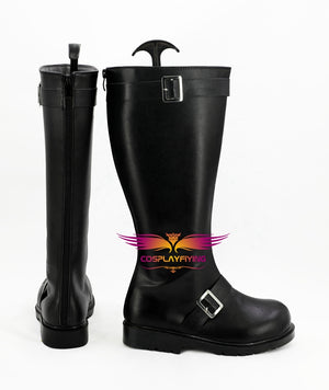 Anime Gintama Sakata Gintoki Cosplay Shoes Boots Custom Made for Adult Men and Women Halloween Carnival