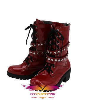 Anime Hypnosis Mic Division Rap Battle Jyushi Aimono Cosplay Shoes Boots Custom Made Adult Men Women Halloween Carnival