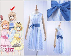 Anime Is the order a rabbit? x Atre Summer Resort Aoyama Blue Mountain Cosplay Costume