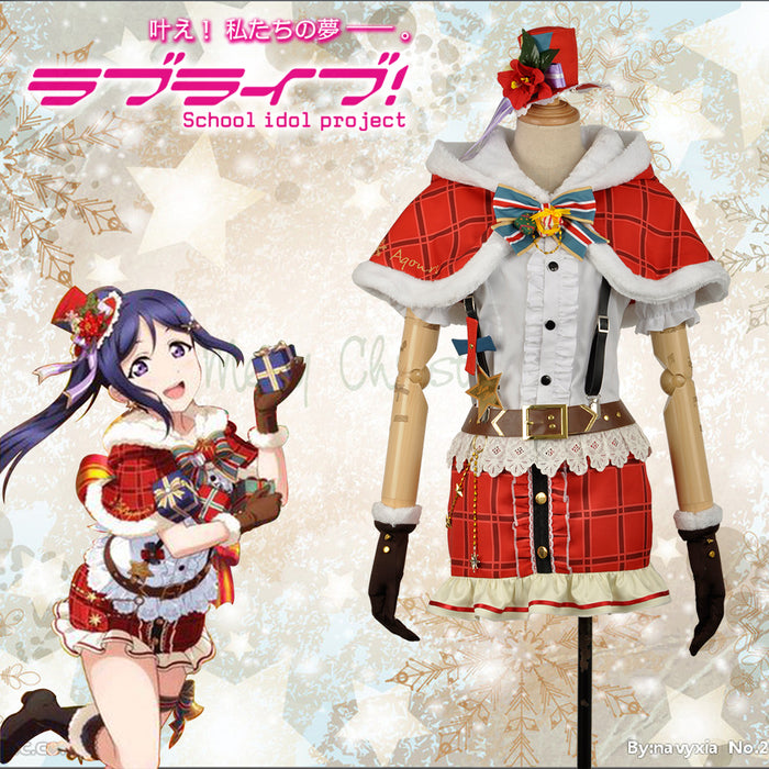 LoveLive!SunShine!! Aqours Kanan Matsuura Christmas Cosplay Costume for Halloween Carnival