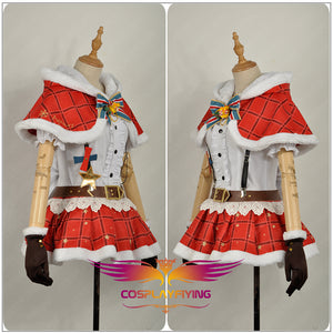 LoveLive!SunShine!! Aqours Takami Chika Christmas Cosplay Costume for Halloween Carnival