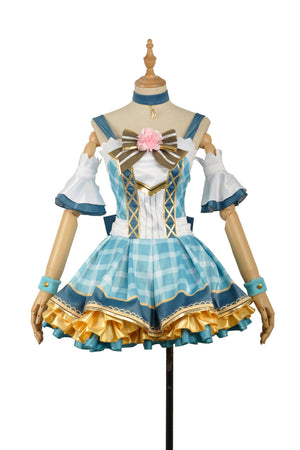 Love Live Flowers Awakening Ayase Eli Dress Bouquet Cosplay Costume