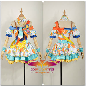 Anime Love Live! Idol Awakening Tojo Nozomi Cosplay Costume Custom Made for Girls Adult Women Halloween Carnival Party Outfits