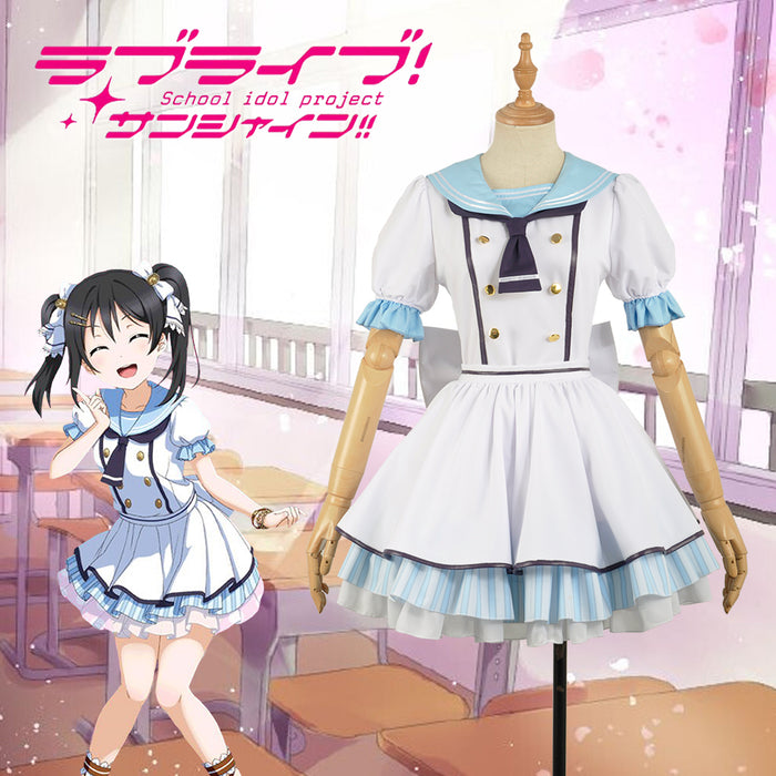 Anime Love Live! Pirate Unawakened Nico Yazawa Cosplay Costume Custom Made for Girls Adult Women Halloween Carnival Party Outfits