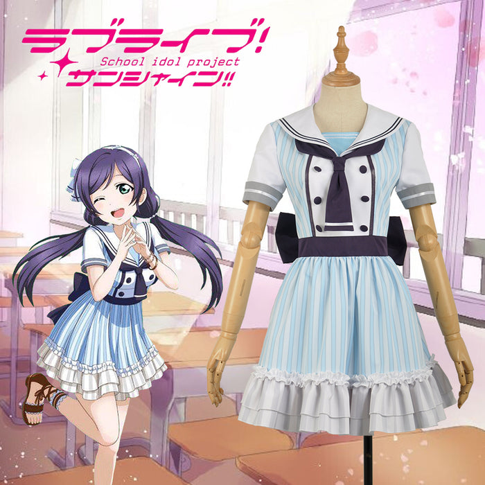 Anime Love Live! Pirate Unawakened Nozomi Tojo Cosplay Costume Custom Made for Girls Adult Women Halloween Carnival Party Outfits