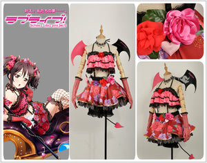 Anime Love Live! Yazawa Little Devil Demon Fancy Cosplay Costume for Halloween Carnival