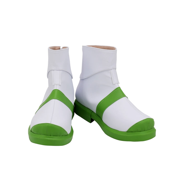 Anime Movie PROMARE Heris Ardebit White Cosplay Shoes Boots Custom Made Adult Men Women Halloween Carnival