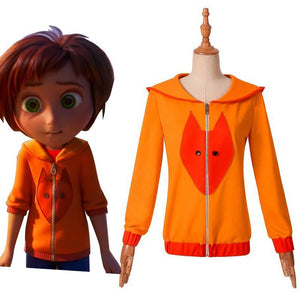 Anime Movie Wonder Park June Baily Piggy Hoodie Cosplay Costume for Halloween Carnival