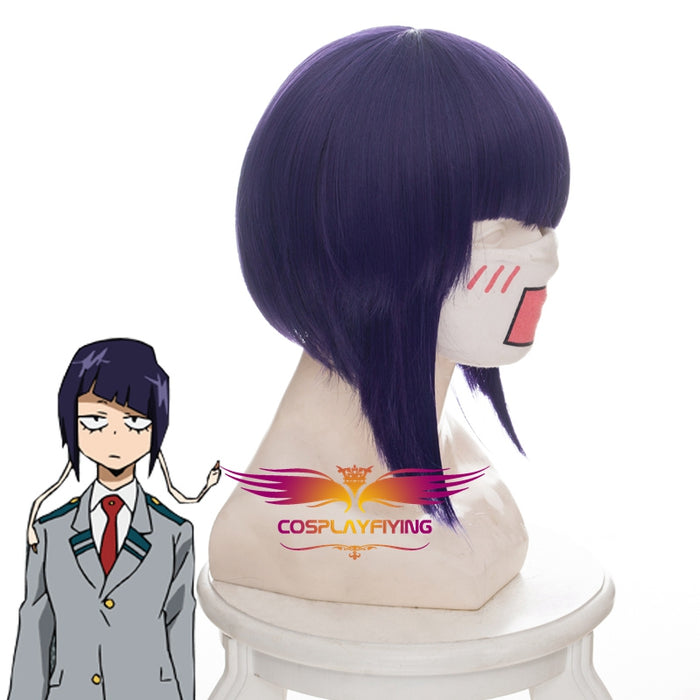 Anime My Hero Academia Baku No Hero Jiro Kyoka 38cm Short Purple Cosplay Wig Cosplay for Girls Adult Women Halloween Carnival Party