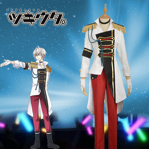 Anime THE ANIMATION Tsukiuta Procellarum Shun Shimotsuki Stage Uniform Cosplay Costume for Carnival Halloween