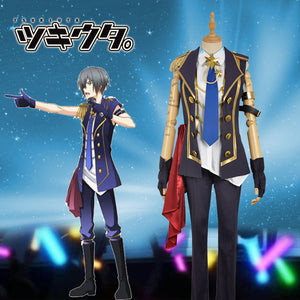 Anime THE ANIMATION Tsukiuta Six Gravity Arata Uzuki Stage Uniform Cosplay Costume for Carnival Halloween