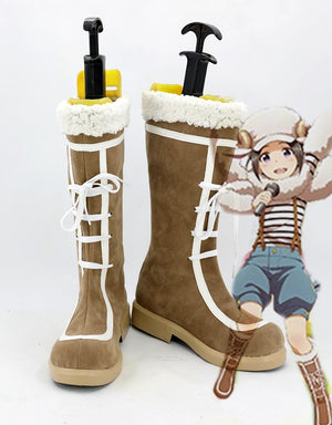 Anime THE IDOLMASTER Okamura Nao Cosplay Shoes Boots Custom Made for Adult Men and Women Halloween Carnival