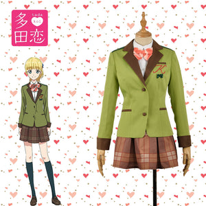Anime Tada Never Falls in Love Teresa Wagner JK Uniform Cosplay Costume for Carnival Halloween Party