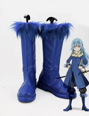 Anime That Time I Got Reincarnated as A Slime Rimuru Tempest Cosplay Shoes Boots Custom Made for Adult Men and Women Halloween Carnival